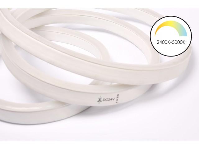 DecaLED® Pro Flex Neon White Shades 144 leds/m 24V per mtr