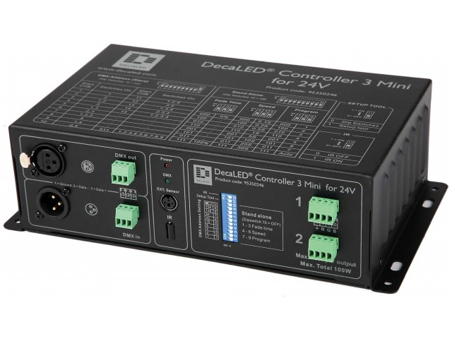 DecaLED® Controller 3 Mini voor 24V applicaties