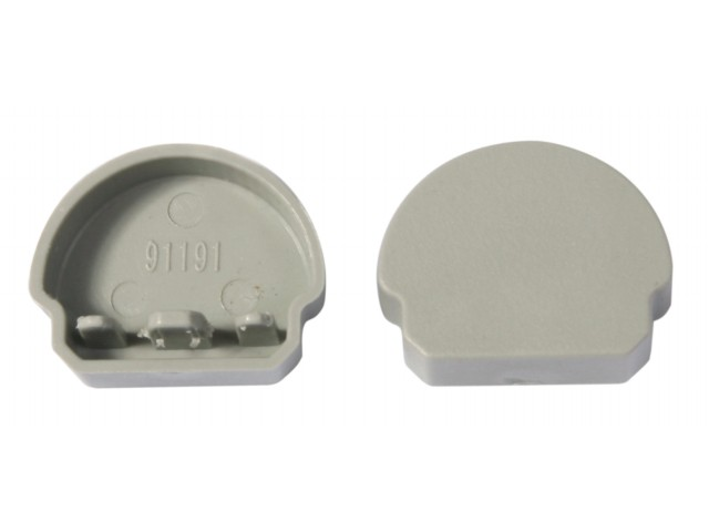 DecaLED® End Cap for Alu Profile Half Round