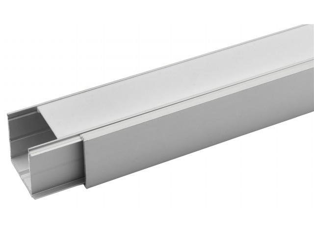 DecaLED® Alu Profiel met Cover 2000 x 42,5 x 34,9mm