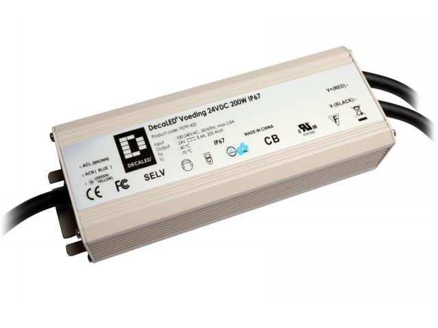 DecaLED® Voeding 12VDC 200W IP67