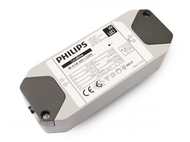 DecaLED® Philips Driver 20W 500mA 2,5m lead