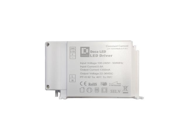 DecaLED® Driver BL20-30W 500mA 0-10V