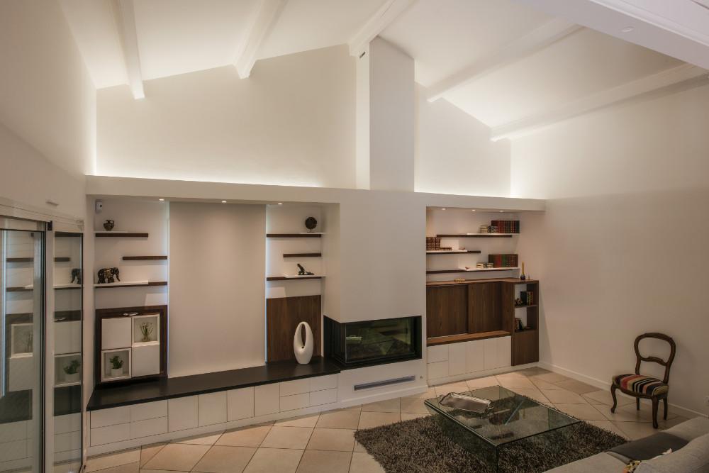 GLENOS Linear-inbouw-profiel 3314-200 2m mat wit